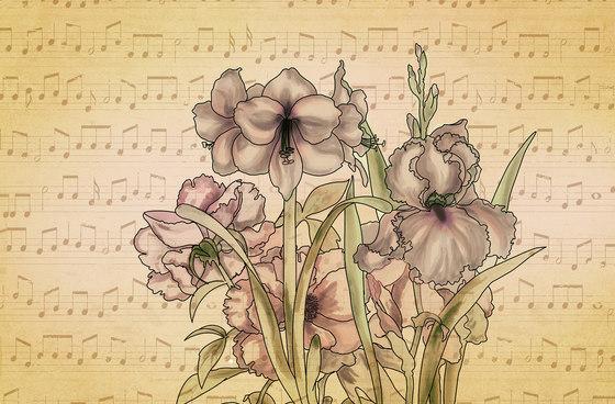 Musical Iris di WallPepper | Carta parati / tappezzeria