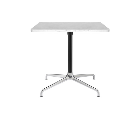 Beetle Lounge - Square - 4-star Base by GUBI | Dining tables