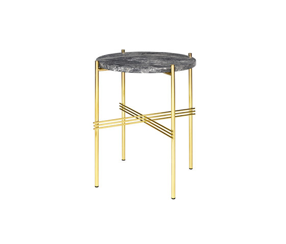 TS Side Table - Ø40 de GUBI | Mesas auxiliares
