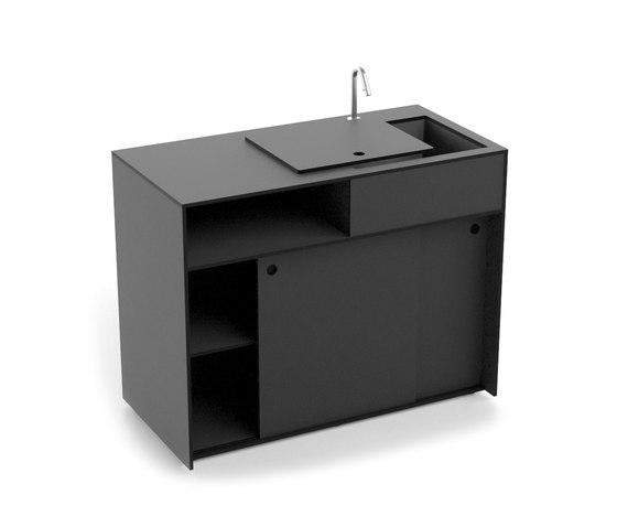 Ticino Kitchen Water by conmoto | Modular kitchens