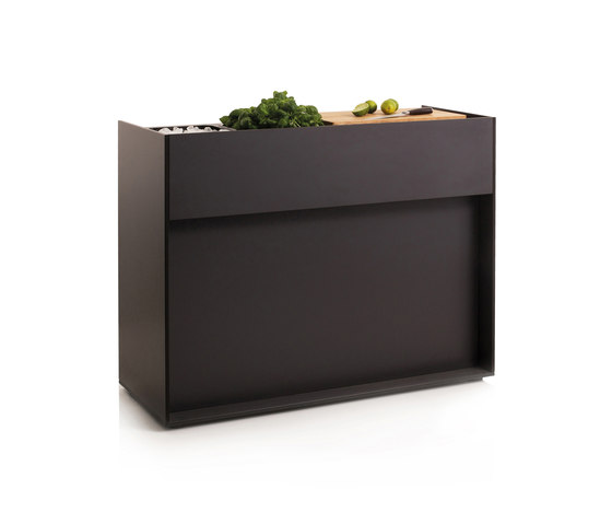 Ticino Kitchen Buffet by conmoto | Compact outdoor kitchens