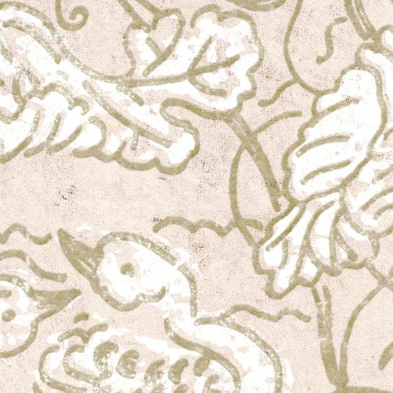 Domino | Flirt aquatique RM 255 04 by Elitis | Wall coverings / wallpapers