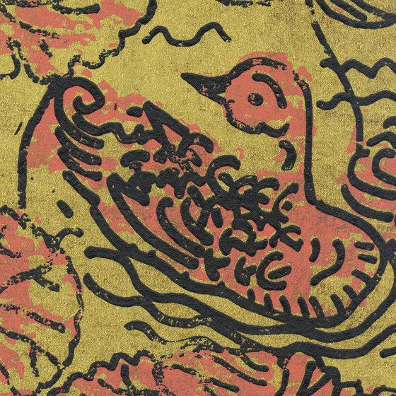Domino | Flirt aquatique RM 255 07 by Elitis | Wall coverings / wallpapers