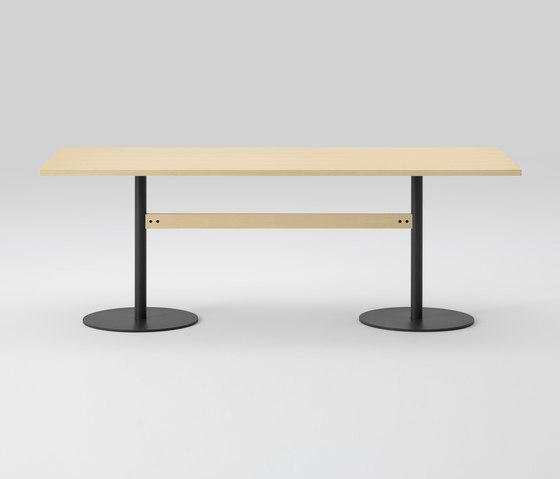 T&O Table 240  (Rectangular/veneer top・solid wood top) di MARUNI | Tavoli pranzo