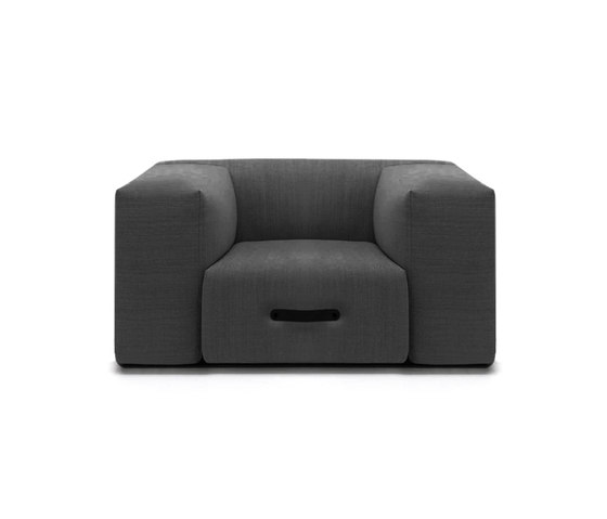 Miami Eckmodul rechts by conmoto | Modular seating elements