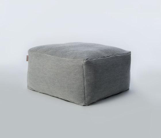 Accessories | Site Soft Checks Outdoor pouf de Warli | Poufs