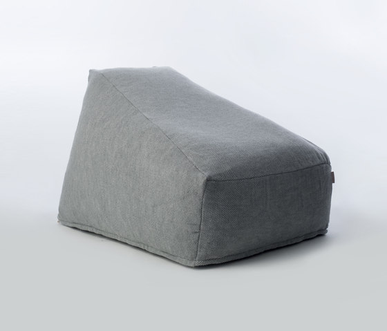 Accessories | Site Soft Moss single seat de Warli | Pufs saco