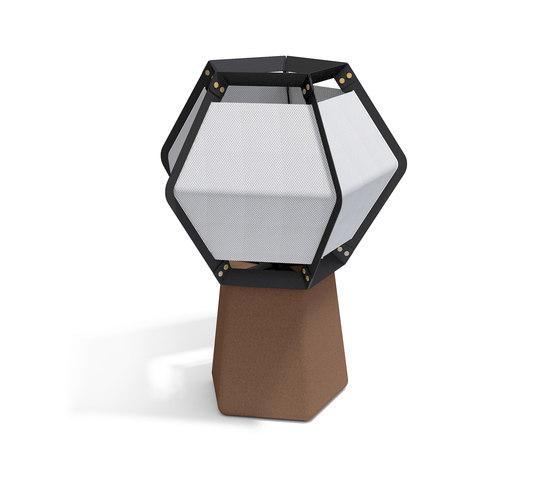 Quintus floor medium, lamp de Lonc | Luminaires de table