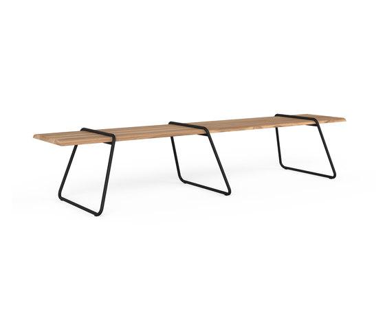 Clip-board 385, table extended di Lonc | Tavoli pranzo