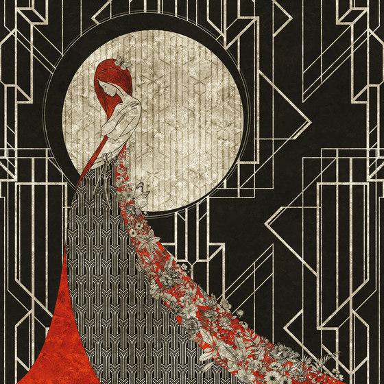 Aubrey di Inkiostro Bianco | Carta parati / tappezzeria