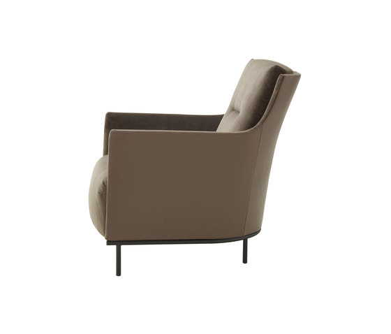 Riga   Armchair With Base Low Back Complete Item by Ligne Roset   Armchairs