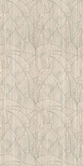 Fogliame de Inkiostro Bianco | Paneles murales