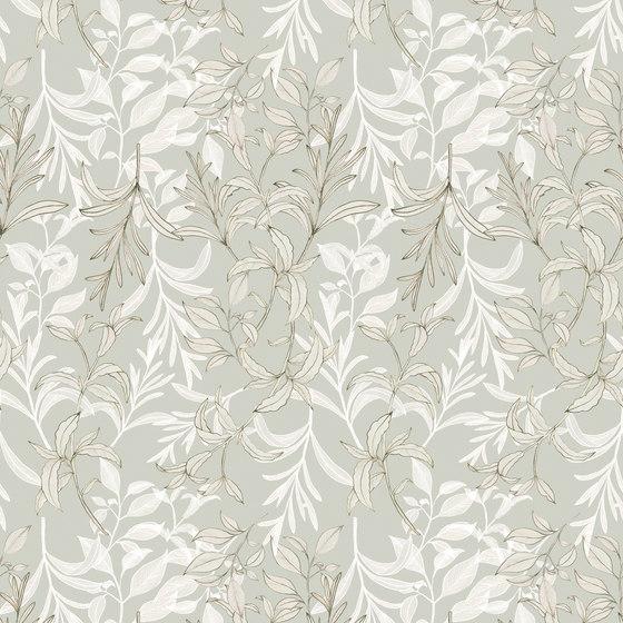 Foglia D´Oro de Inkiostro Bianco | Tejidos decorativos