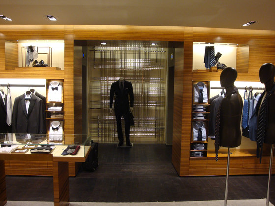 Bespoke Display Unit For Clothes Shop by YDF | Coat racks