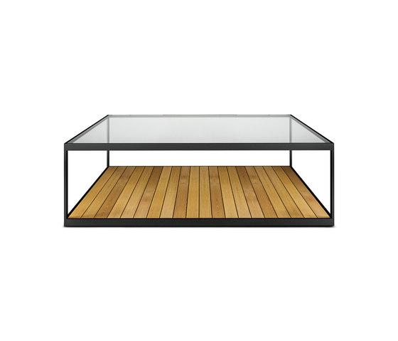 Garden Moore | Coffee Table Glass top de Röshults | Mesas de centro