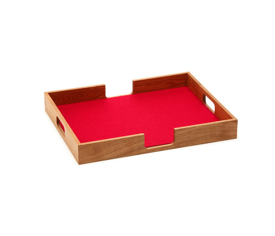 Tray rectangular by HEY-SIGN   Trays