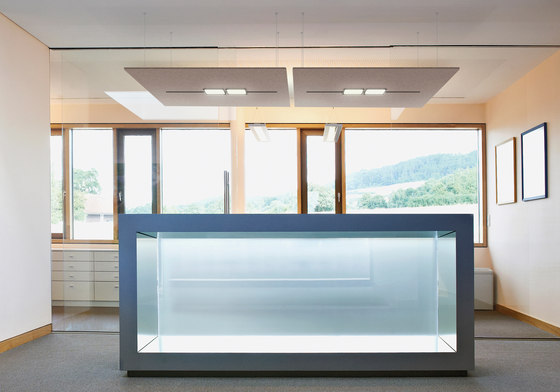 FIBER CEILING by acousticpearls   Sound absorbing ceiling systems