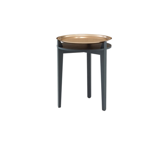 Side Table | Occasional Table Copper-Plated Top by Ligne Roset | Side tables