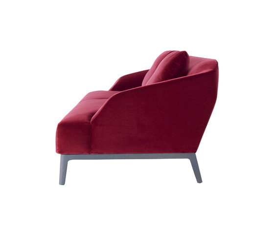 Sintra | Medium Settee Complete Item - Low Back Cushions by Ligne Roset | Sofas