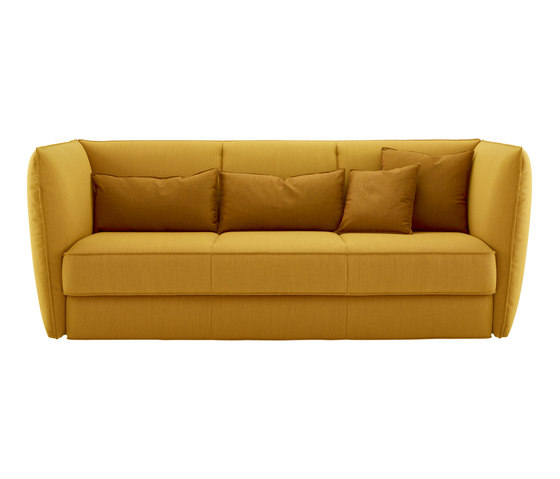 Softly | Bed Settee With 2 Arms Complete Item by Ligne Roset | Sofas