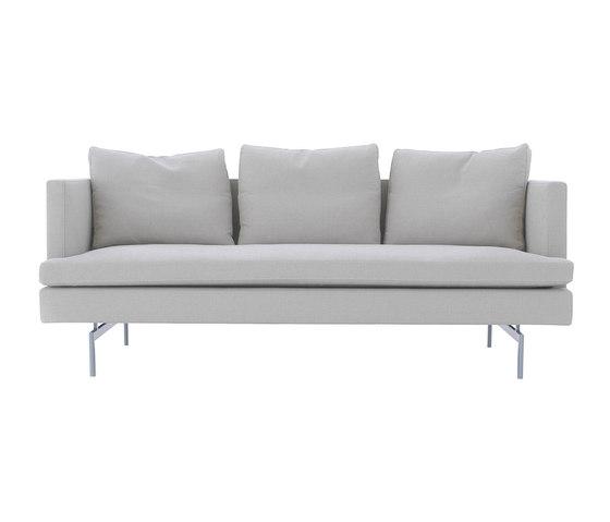 Stricto Sensu Contract   Gran Sofa 2 Plazas Patas De Aluminio Articulo Completo de Ligne Roset   Sofás