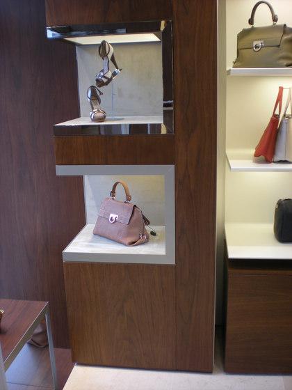 Display Niches For Shop Interior de YDF | Estantería