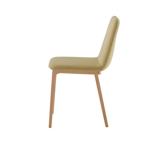 Tadao | Chair Base In Natural Beech by Ligne Roset | Chairs