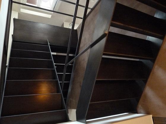 Raw Steel Staircase de YDF   Sistemas de escalera