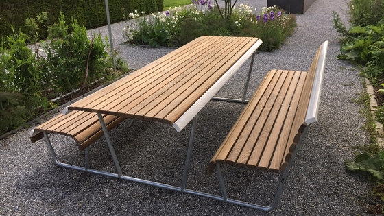 Landi Inclusion Bench Table Bench Combination Tables Et Bancs De