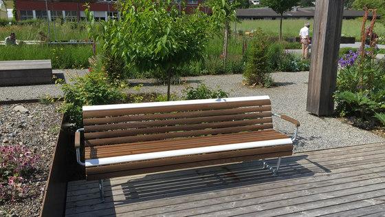 Landi Inclusion bench by BURRI | Benches