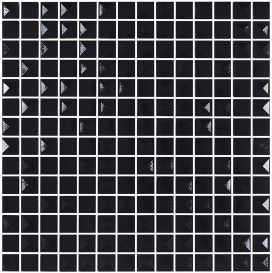 Aniversary - Pyramidal Black Aniversary Mix de Hisbalit | Mosaïques verre