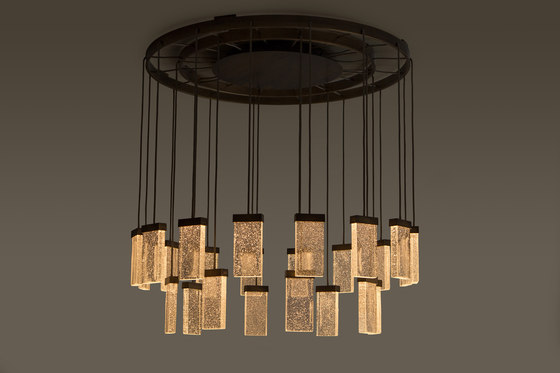 GRAND CRU chandelier  – ceiling light de MASSIFCENTRAL | Suspensions