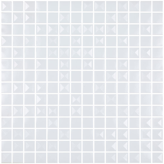 Aniversary - Pyramidal White Aniversary Mix de Hisbalit | Mosaïques verre