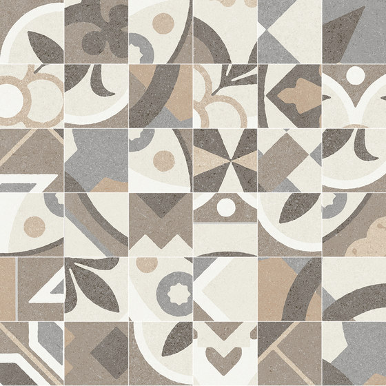 GROUND | D.MILA WARM MOSAIC/SF by Peronda | Ceramic mosaics