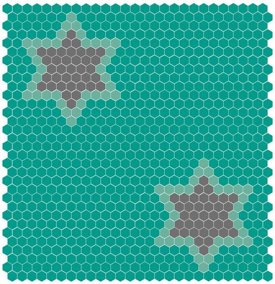 Natural - Estrellas de Hisbalit | Mosaïques verre