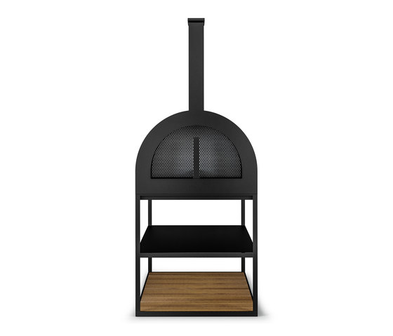 BBQ Wood Oven | Anthracite by Röshults | Wood fired stoves