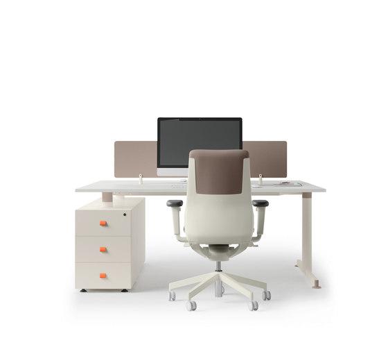 NOS Operative Desking System di Guialmi   Scrivanie
