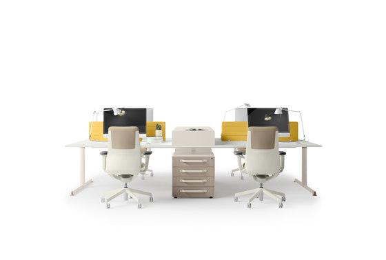 NOS Operative Desking System by Guialmi | Desks