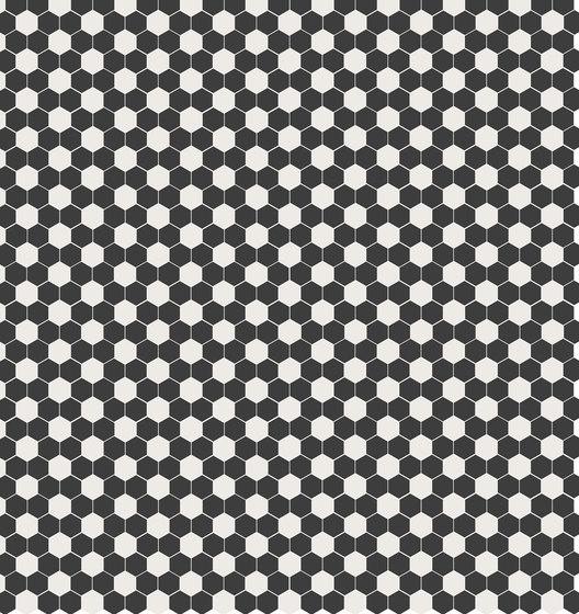 Retro - Damero Black de Hisbalit | Mosaïques verre