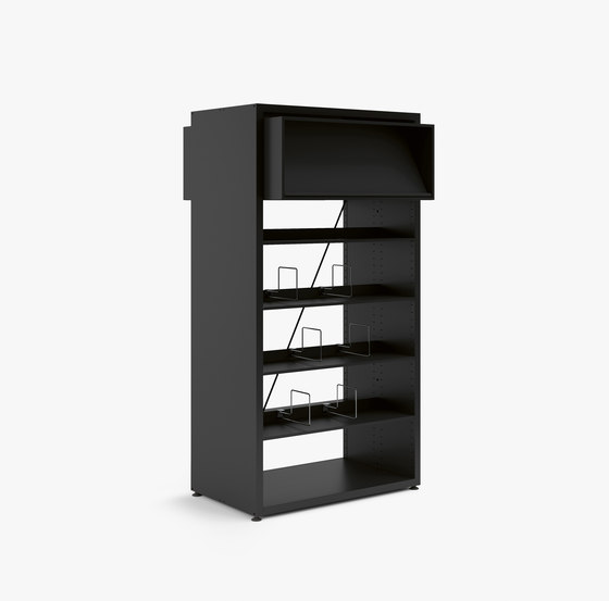 V2 Library Shelving by Guialmi | Shelving