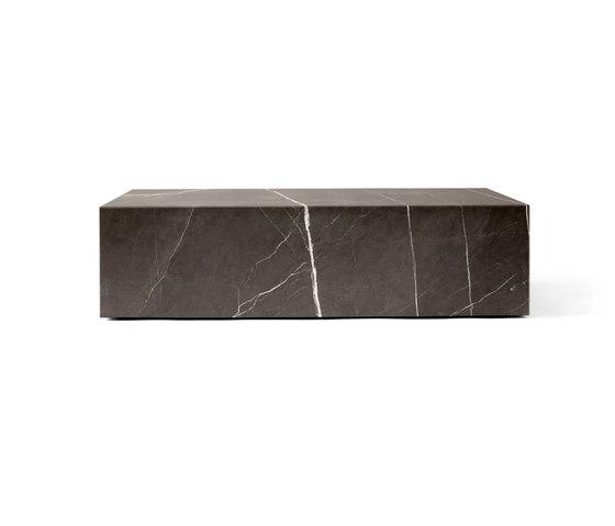 Plinth Low | Brown Grey de MENU | Tables basses