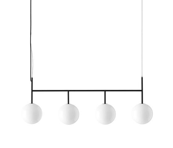 TR Bulb | Shiny Opal Suspension Frame by MENU | Suspended lights