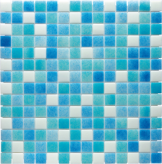 Water Mix - Timor* by Hisbalit   Glass mosaics