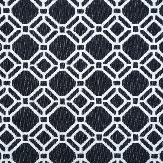 Sergin | Colour Black 32 by DEKOMA | Drapery fabrics