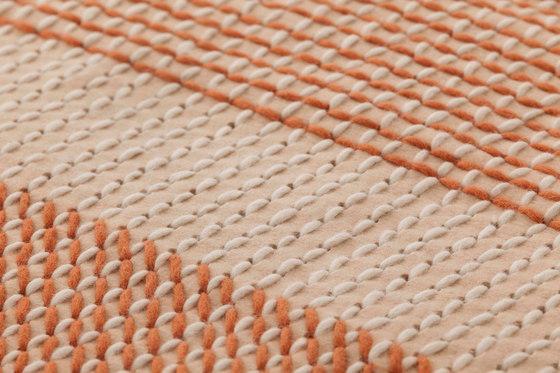 Canevas Geo Rug Coral de GAN | Alfombras / Alfombras de diseño
