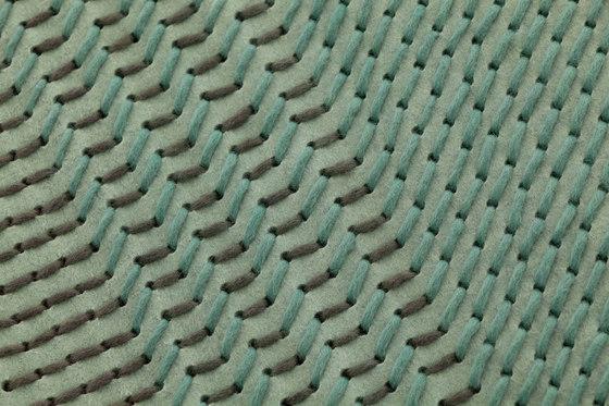 Canevas Geo Rug Green by GAN | Rugs