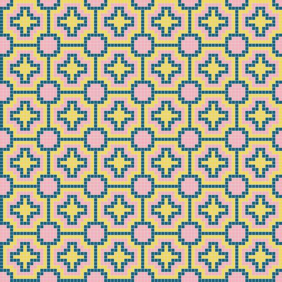 Palm Springs - Mecca von Hisbalit | Glas Mosaike