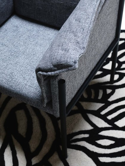 Carmen | Armchair by My home collection | Armchairs