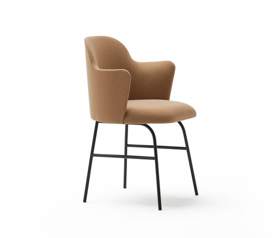 Aleta chair with arms by viccarbe | Chairs