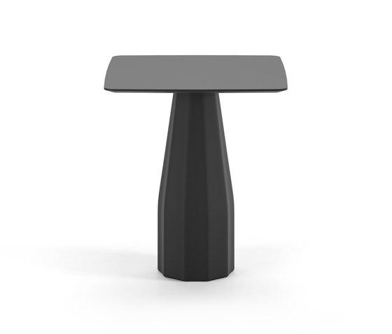 Burin 90x90 de viccarbe | Tables hautes